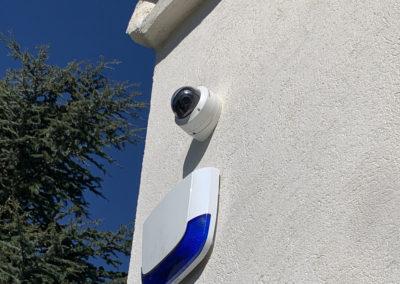 Photos de différents projets de vidéosurveillance