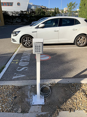 controle dacces parking