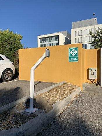 controleur dacces parking